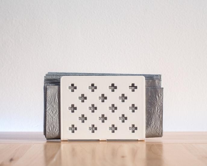 Фото - Салфетница Крестомания белая купить в киеве на подарок, цена, отзывы
