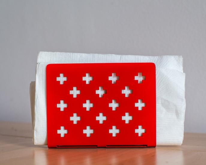 Фото - Салфетница Крестомания красная купить в киеве на подарок, цена, отзывы