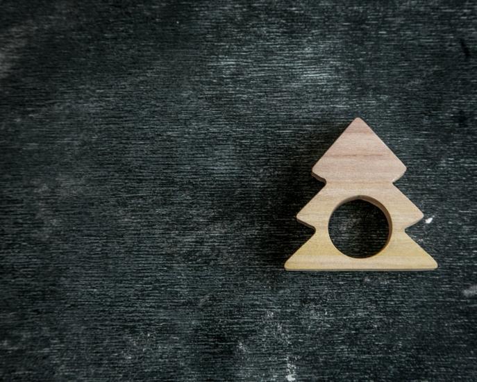 Фото - Кольца для салфеток Ель купить в киеве на подарок, цена, отзывы