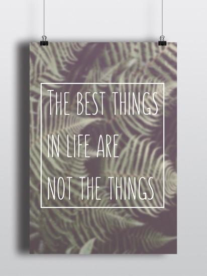 Фото - Постер The best things купить в киеве на подарок, цена, отзывы