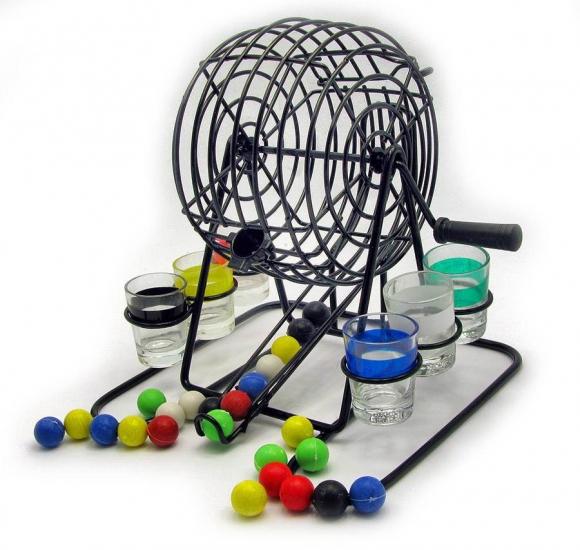 Фото - Бинго с набором рюмок  купить в киеве на подарок, цена, отзывы
