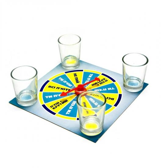 Фото - Игровой набор Крути и пей купить в киеве на подарок, цена, отзывы