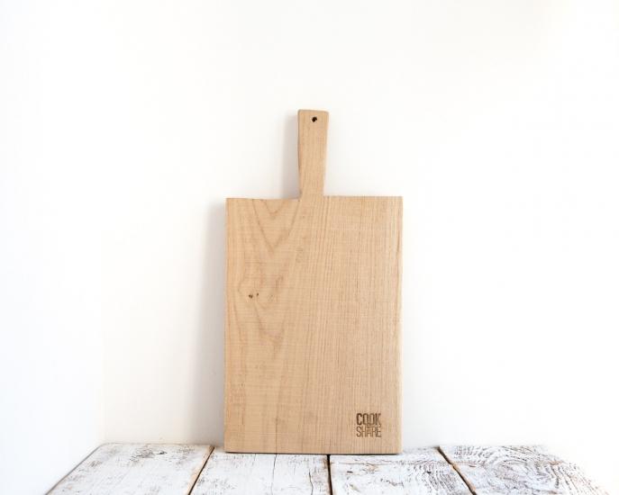 Фото - Прямоугольная разделочная доска из белого дуба купить в киеве на подарок, цена, отзывы