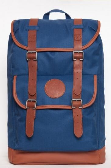 Фото - Рюкзак GIN Веспер синий неви купить в киеве на подарок, цена, отзывы