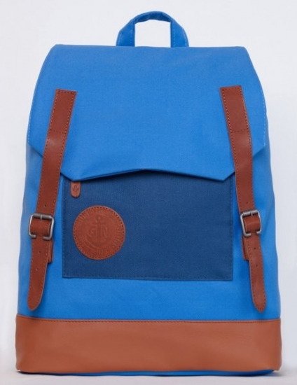 Фото - Рюкзак GIN мексиканец голубой с карманом неви купить в киеве на подарок, цена, отзывы