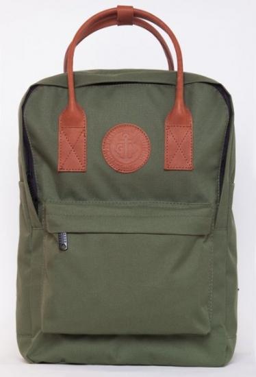 Фото - Рюкзак GIN Том Коллинз хаки купить в киеве на подарок, цена, отзывы