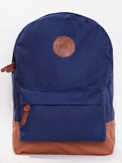 Фото - Рюкзак GiN Bronx синий купить в киеве на подарок, цена, отзывы