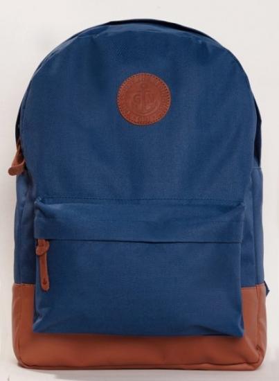 Фото - Рюкзак GiN Bronx синий Navy купить в киеве на подарок, цена, отзывы