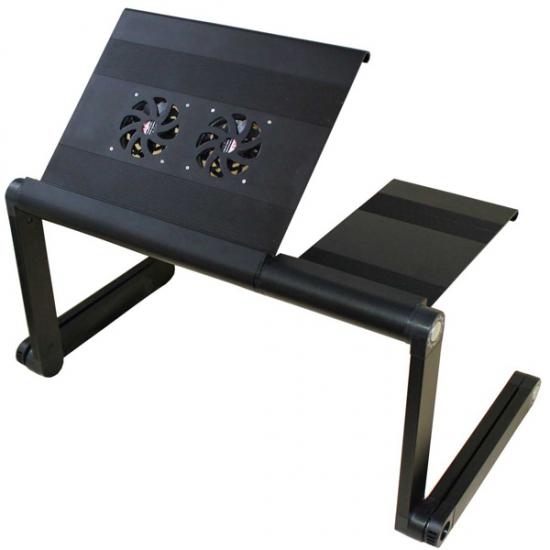 Фото - Столик для ноутбука Gigatron Black купить в киеве на подарок, цена, отзывы