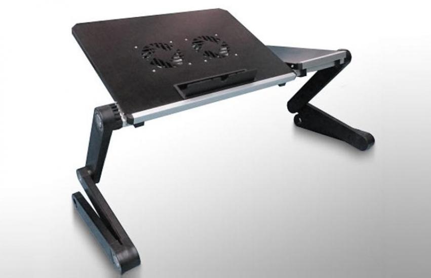 Фото - Столик для ноутбука черный Матовый купить в киеве на подарок, цена, отзывы