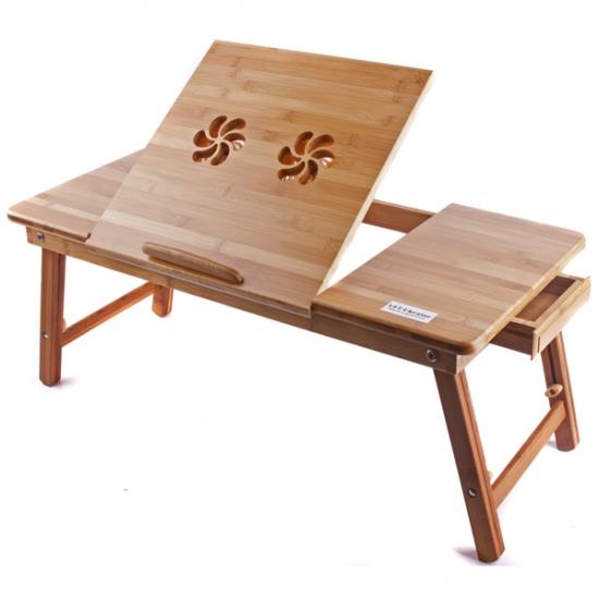 Фото - Бамбуковый столик для ноутбука Джоржи купить в киеве на подарок, цена, отзывы