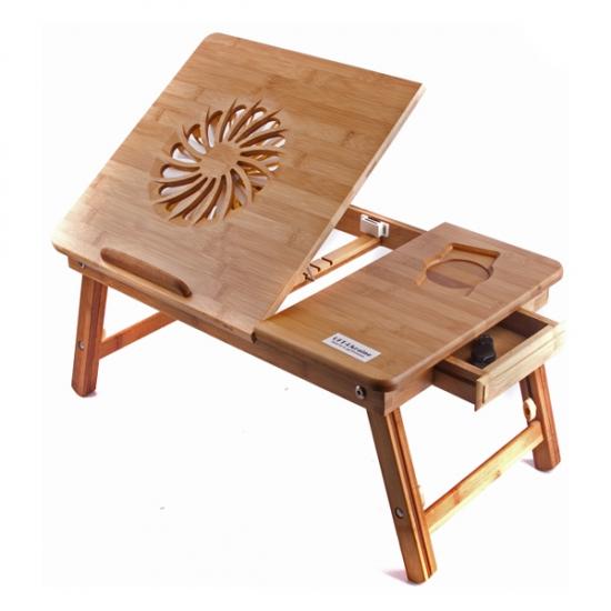 Фото - Бамбуковый столик для ноутбука Каланз купить в киеве на подарок, цена, отзывы
