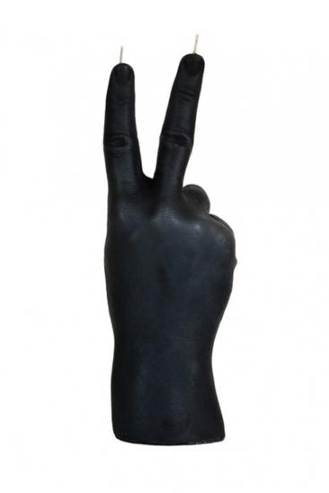 Фото - Свеча черная в виде руки Victory купить в киеве на подарок, цена, отзывы