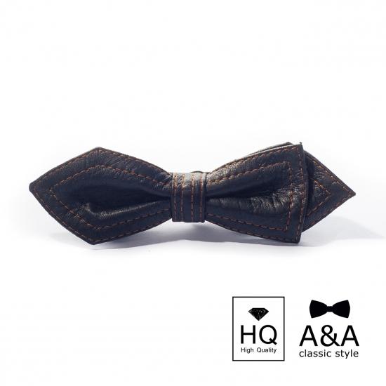 Фото - Галстук-бабочка Талбот Первосортная итальянская кожа купить в киеве на подарок, цена, отзывы