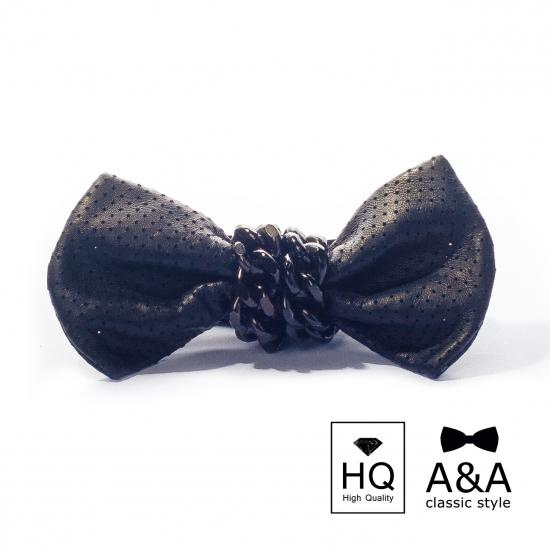 Фото - Галстук-бабочка Коллум Первосортная итальянская кожа купить в киеве на подарок, цена, отзывы