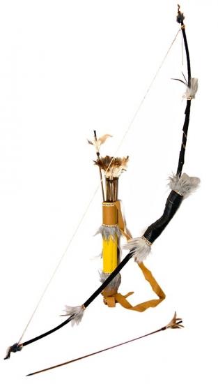 Фото - Сувенирный лук со стрелами купить в киеве на подарок, цена, отзывы