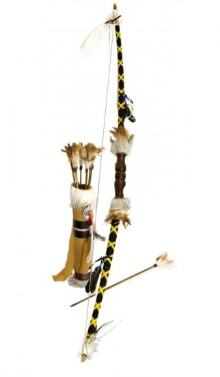 Фото - Сувенирный лук со стрелами 143 см купить в киеве на подарок, цена, отзывы