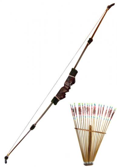 Фото - Лук со стрелами  150Х70 см купить в киеве на подарок, цена, отзывы