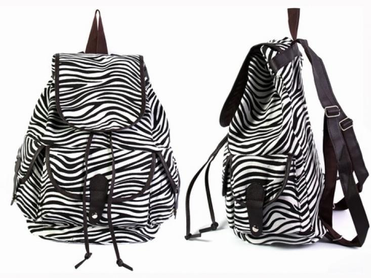 Фото - Рюкзак Холщовый  Pattern Зебра  купить в киеве на подарок, цена, отзывы