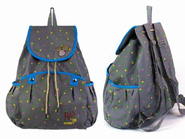Фото - Рюкзак Холщовый Pattern Тюльпанчики  купить в киеве на подарок, цена, отзывы