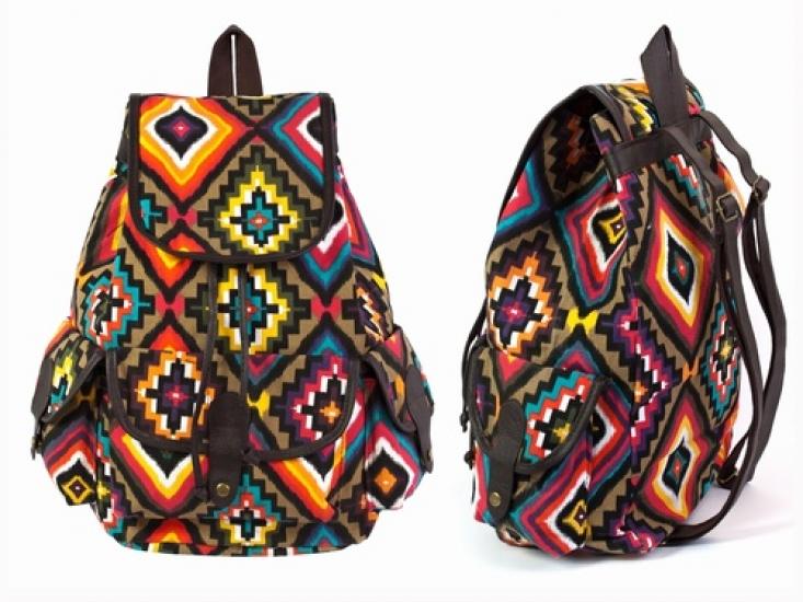 Фото - Рюкзак Холщовый Pattern Узор Пуэбло купить в киеве на подарок, цена, отзывы