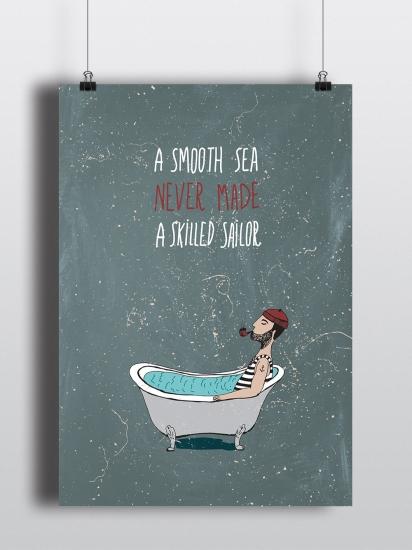 Фото - Постер Sailor купить в киеве на подарок, цена, отзывы