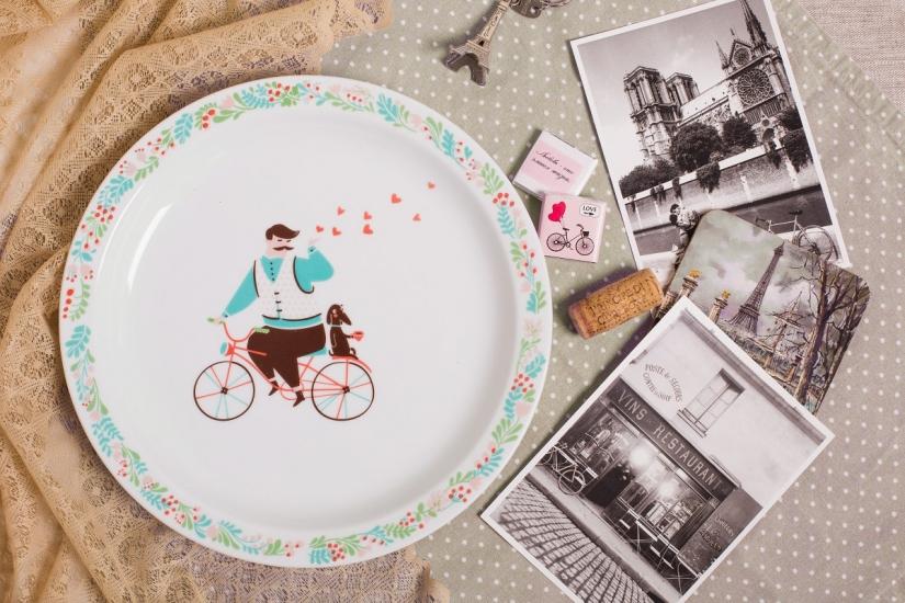 Фото - Тарелка Парень романтик купить в киеве на подарок, цена, отзывы
