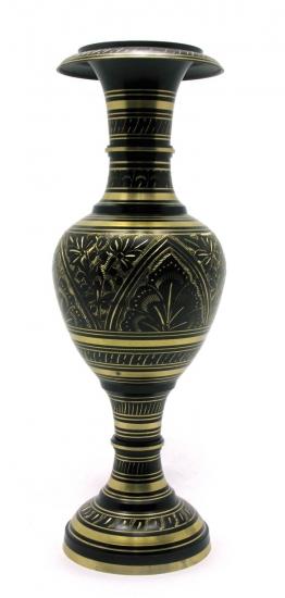 Фото - Ваза бронзовая черная Virgena купить в киеве на подарок, цена, отзывы