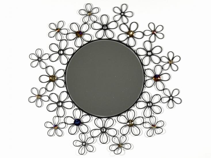 Фото - Зеркало Цветы  купить в киеве на подарок, цена, отзывы