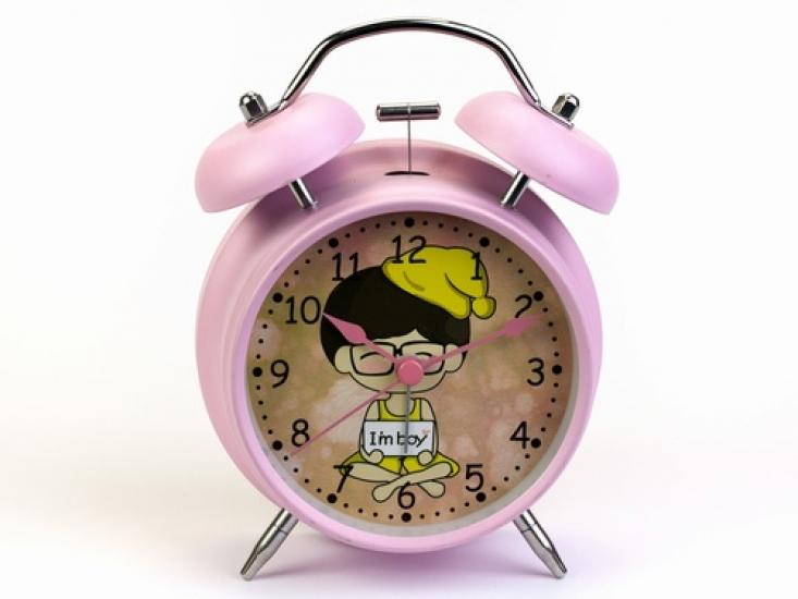 Фото - Будильник Розовый Farryn 16 см купить в киеве на подарок, цена, отзывы