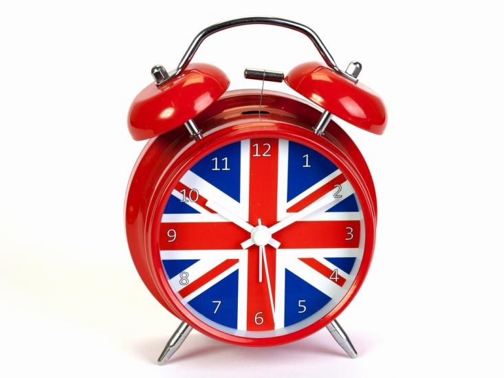 Фото - Будильник Британский Флаг 16 см купить в киеве на подарок, цена, отзывы