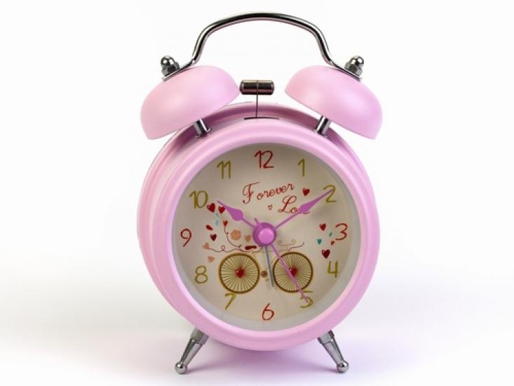 Фото - Будильник Edlyn Нежно-Розовый 12,5 см купить в киеве на подарок, цена, отзывы