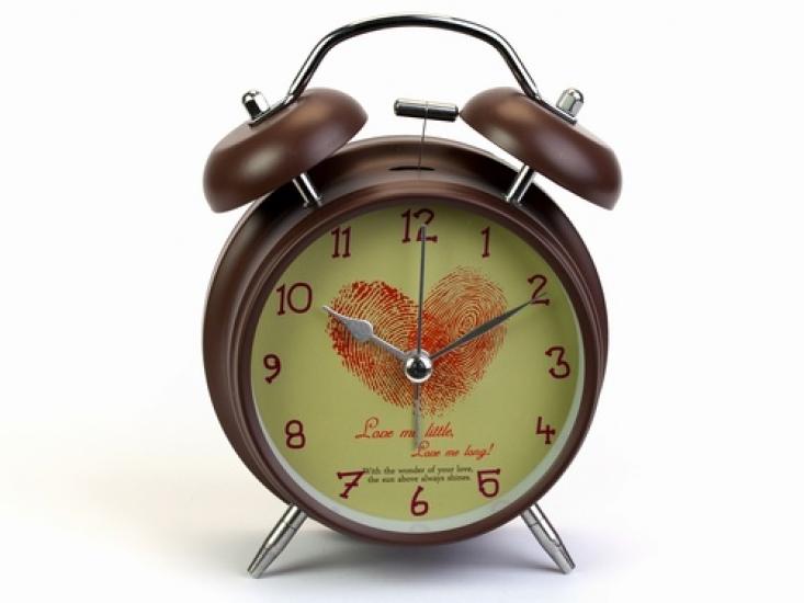 Фото - Будильник Сердце Love 16 см купить в киеве на подарок, цена, отзывы