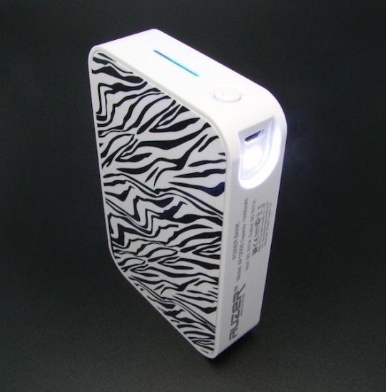 Фото - Универсальная батарея AUZER AP12000 zebra  купить в киеве на подарок, цена, отзывы