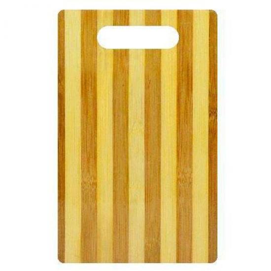Фото - Доска разделочная бамбук 24х16см купить в киеве на подарок, цена, отзывы