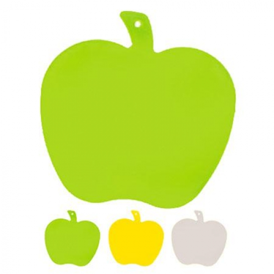 Фото - Доска разделочная пластиковая Яблуко купить в киеве на подарок, цена, отзывы