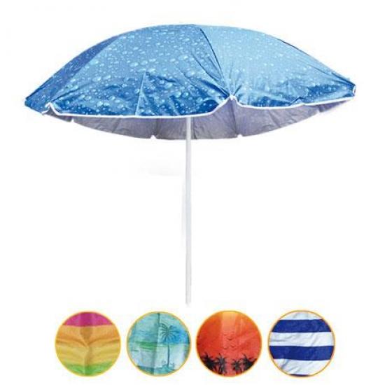 Фото - Пляжный зонт с наклоном 1.8м с ультрафиолетовой защитой купить в киеве на подарок, цена, отзывы