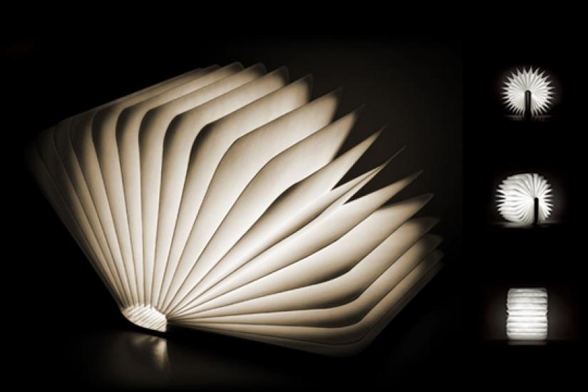 Фото - Светильник Книга со страницами купить в киеве на подарок, цена, отзывы