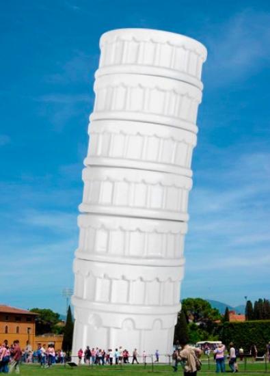 Фото - Чашки Пизанская башня набор 6 шт. купить в киеве на подарок, цена, отзывы