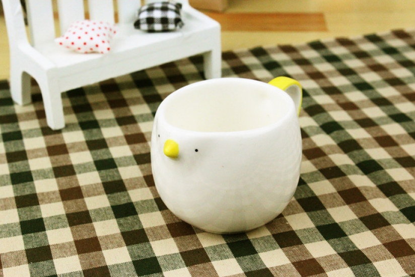Фото - Кофейная чашечка Цыпленок  купить в киеве на подарок, цена, отзывы
