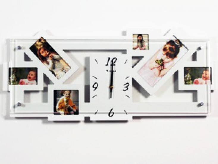 Фото - Фоторамка с часами Креатив купить в киеве на подарок, цена, отзывы