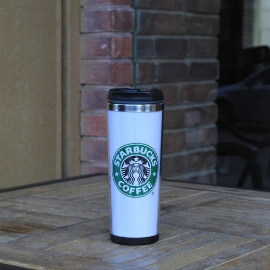 Фото - Термокружка White Starbucks купить в киеве на подарок, цена, отзывы