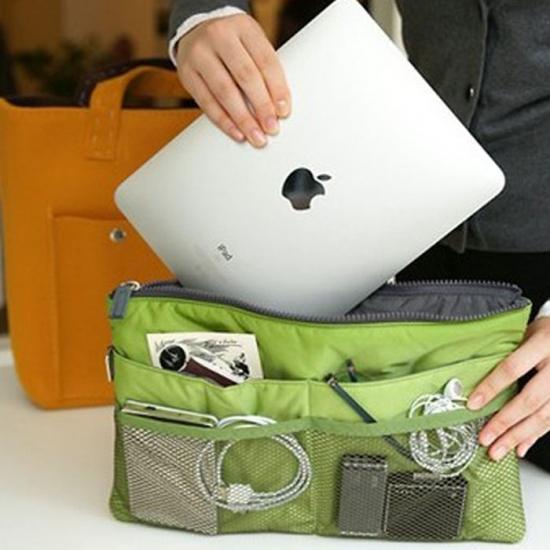 Фото - Органайзер Bag in bag maxi зеленый купить в киеве на подарок, цена, отзывы