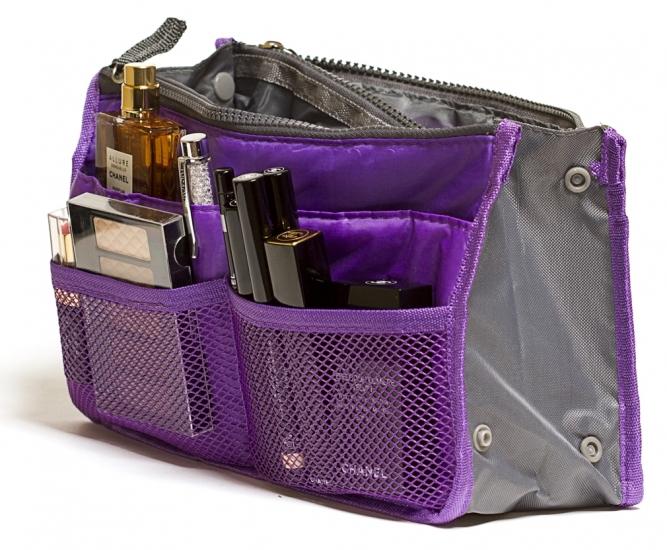 Фото - Органайзер Bag in bag maxi фиолетовый купить в киеве на подарок, цена, отзывы