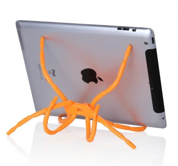 Фото - Spider подставка под планшет Оранжевая купить в киеве на подарок, цена, отзывы