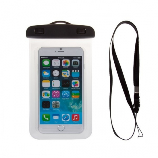 Фото - Водонепроницаемый чехол для телефона Прозрачный купить в киеве на подарок, цена, отзывы