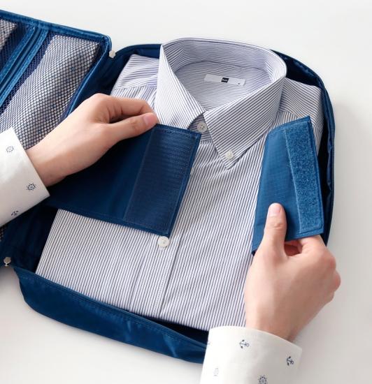 Фото - Органайзер для рубашек и блузок синий купить в киеве на подарок, цена, отзывы