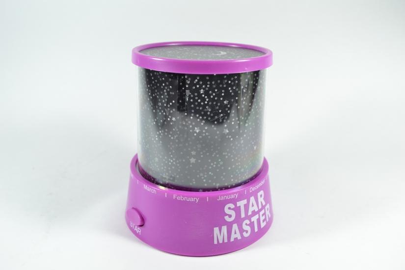 Фото - Проектор звездного неба STAR MASTER Фиолетовый купить в киеве на подарок, цена, отзывы