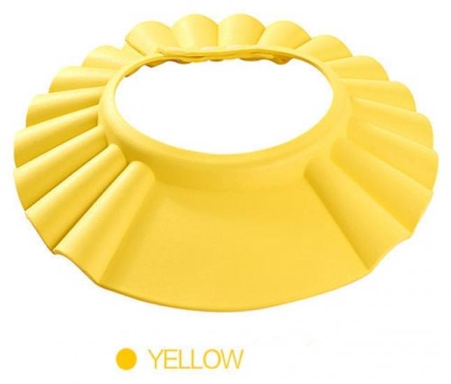 Фото - Шапочка для купания младенцев Желтая купить в киеве на подарок, цена, отзывы