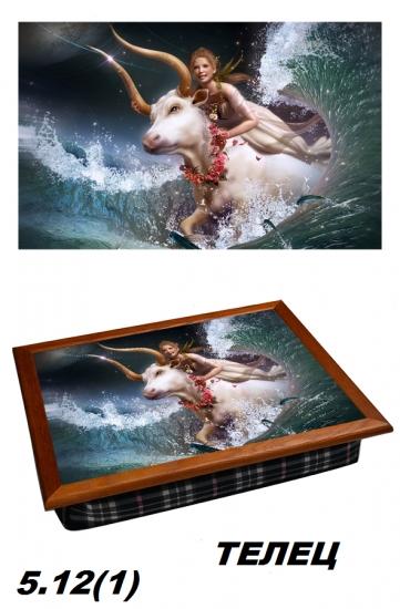 Фото - Поднос с подушкой Телец Вселенная  купить в киеве на подарок, цена, отзывы